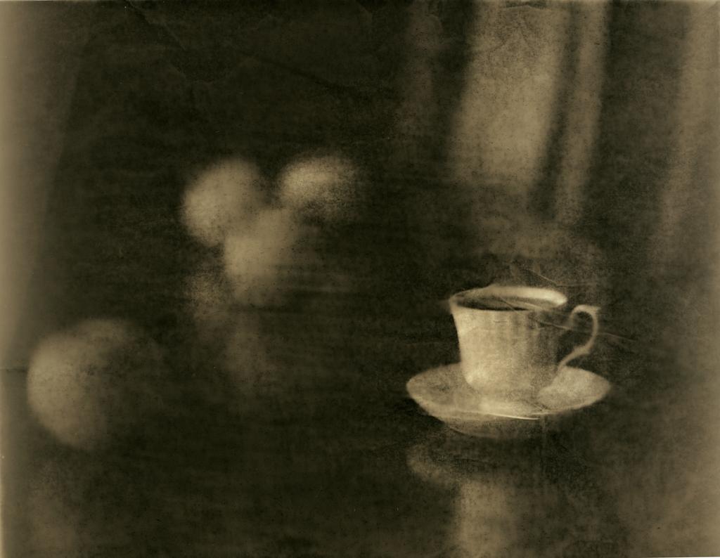 За чашкой кофе. Лит печать. Проявитель Kodak D-9