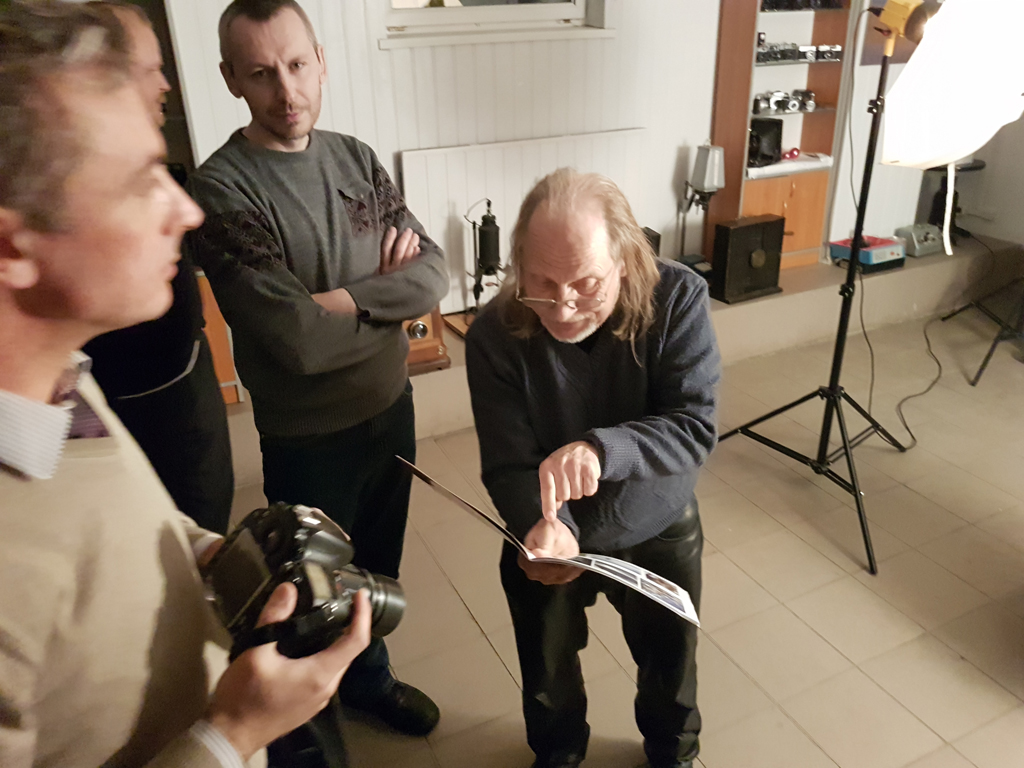 МК Виктора Суглоба. Пикториальный портрет с моноклем.