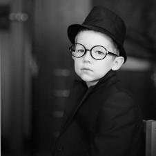 Портрет Андрея. Сделан на камеру большого формата