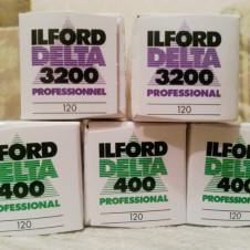 Пленка Ilford Delta